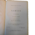 Samson by G.F.Handel - Novello's Edition